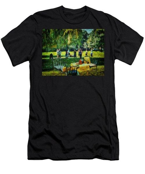 High Tea Tai Chi Men's T-Shirt (Athletic Fit)
