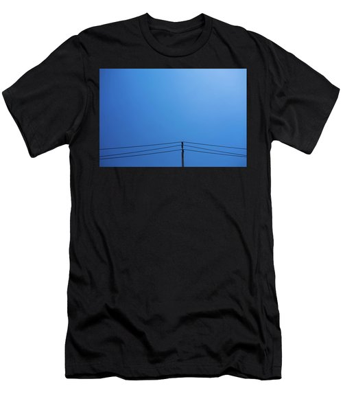 High Voltage Power, Electric Pose Men's T-Shirt (Athletic Fit)