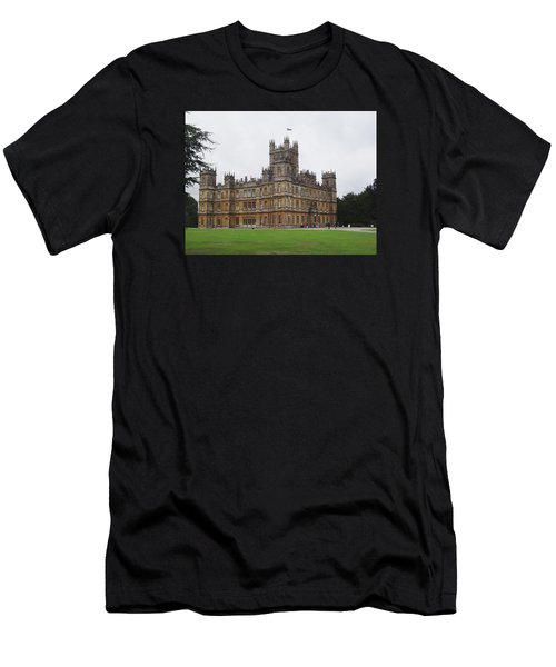 Highclere Castle Men's T-Shirt (Athletic Fit)