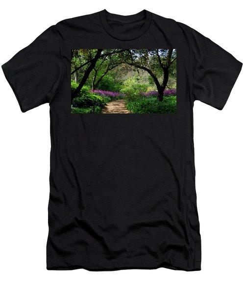 Highdown Gardens2 Men's T-Shirt (Athletic Fit)