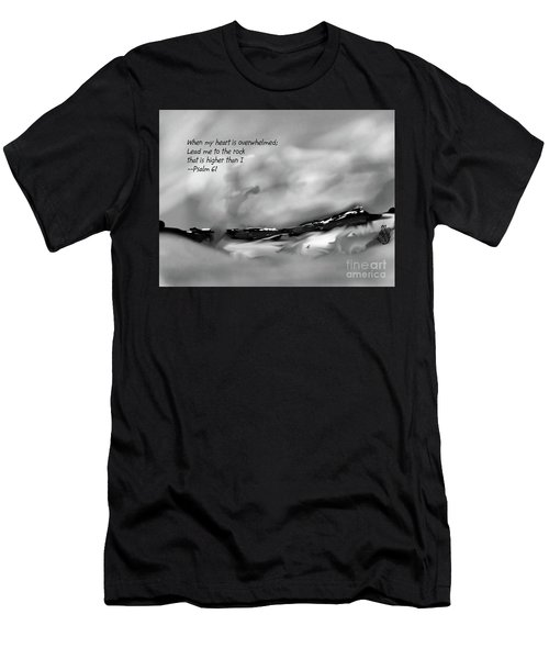 Higher Than I Men's T-Shirt (Athletic Fit)