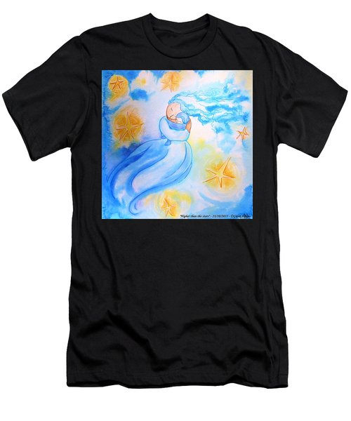 Higher Then The Stars Men's T-Shirt (Athletic Fit)