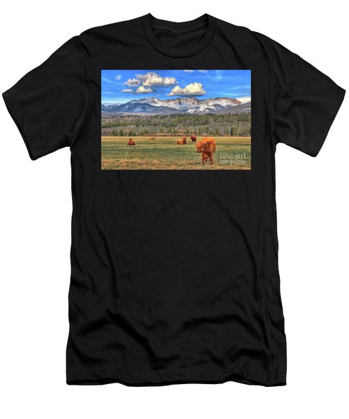 Highland Colorado Men's T-Shirt (Athletic Fit)