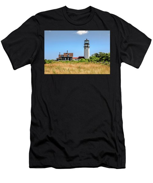 Highland Light - Cape Cod Men's T-Shirt (Athletic Fit)