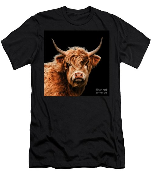 Highland Cow Men's T-Shirt (Athletic Fit)