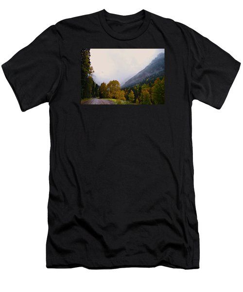 Men's T-Shirt (Slim Fit) featuring the photograph Highlands by Laura Ragland