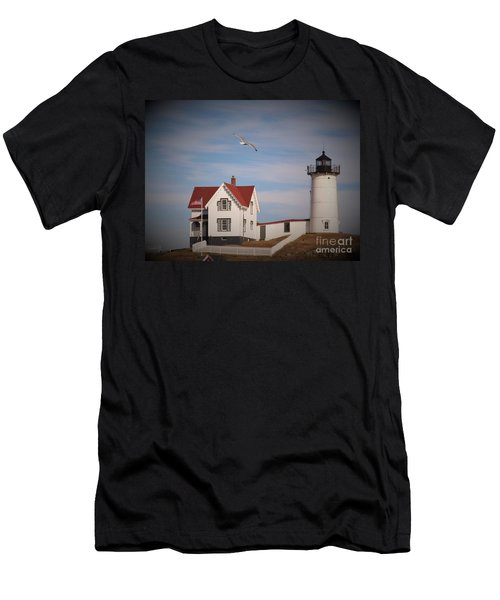 Highlighting The Nubble Light Men's T-Shirt (Athletic Fit)