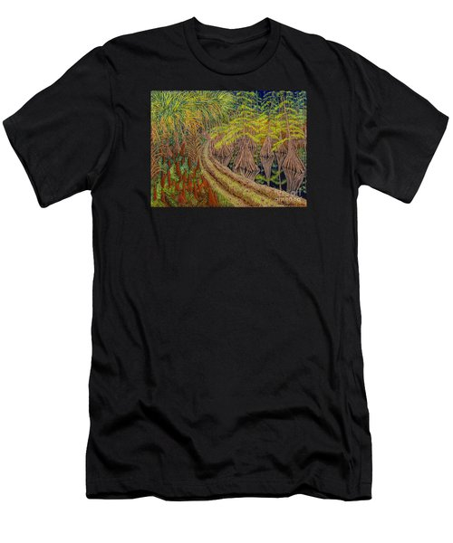 Highway 70 East Circa 1905 Men's T-Shirt (Athletic Fit)