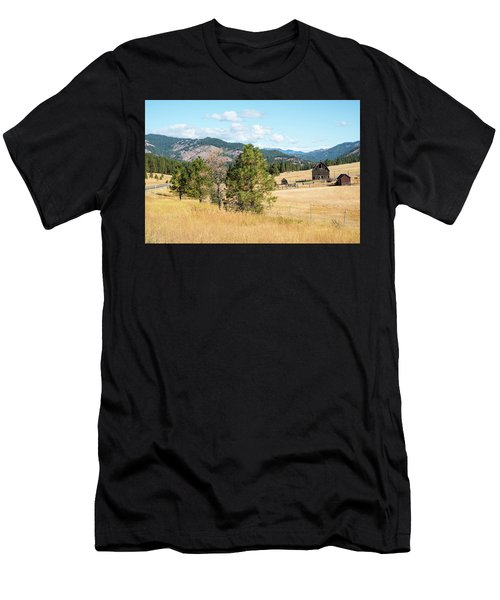 Highway 97 Ranch Memories Men's T-Shirt (Athletic Fit)