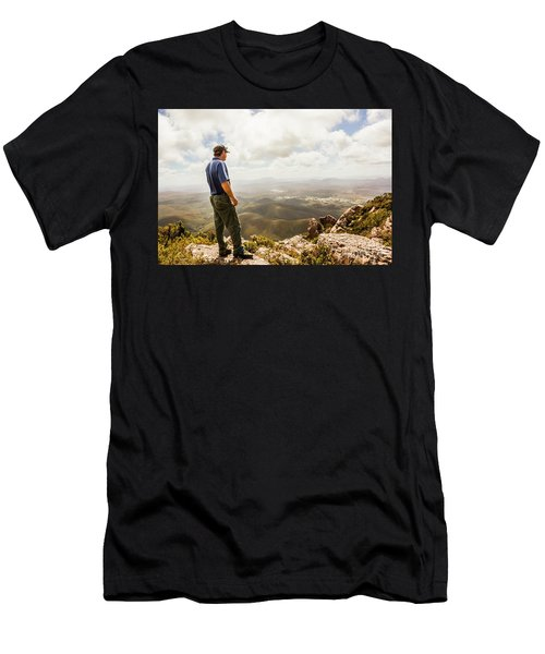 Hiking Australia Men's T-Shirt (Athletic Fit)