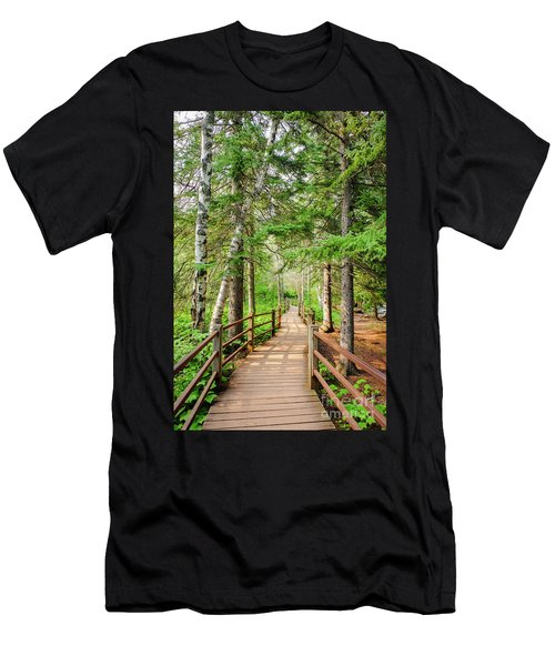 Hiking Trail Men's T-Shirt (Athletic Fit)