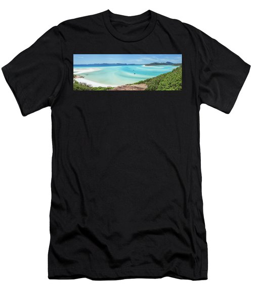 Hill Inlet Lookout Men's T-Shirt (Athletic Fit)