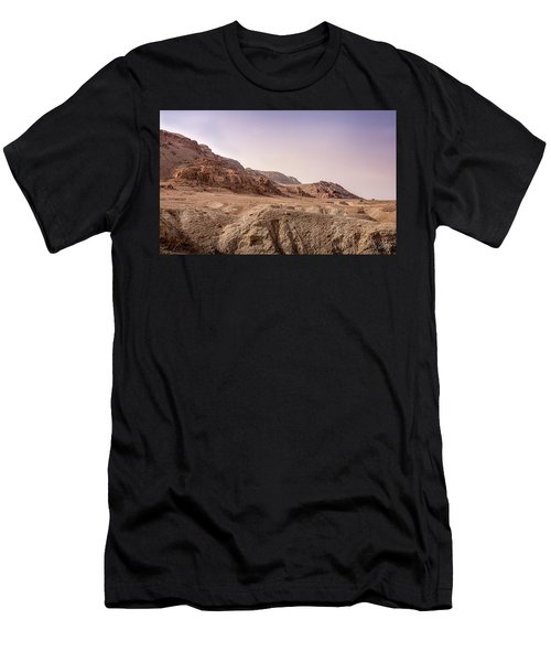 Hills By The Dead Sea Men's T-Shirt (Athletic Fit)