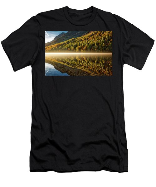 Hills In The Mist Men's T-Shirt (Athletic Fit)