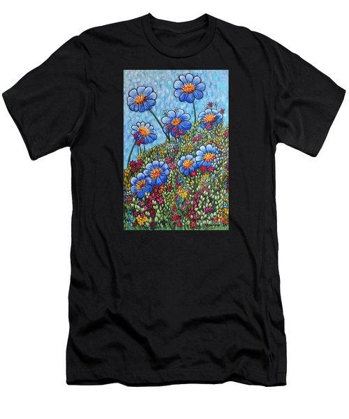 Hillside Blues Men's T-Shirt (Athletic Fit)