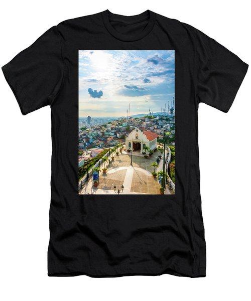 Hilltop Church Men's T-Shirt (Athletic Fit)
