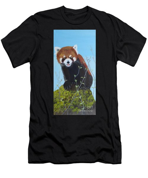 Himalayan Red Panda Men's T-Shirt (Athletic Fit)