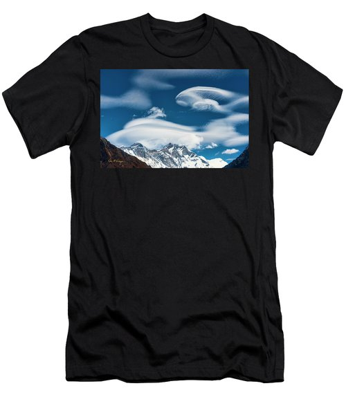 Himalayan Sky Men's T-Shirt (Athletic Fit)