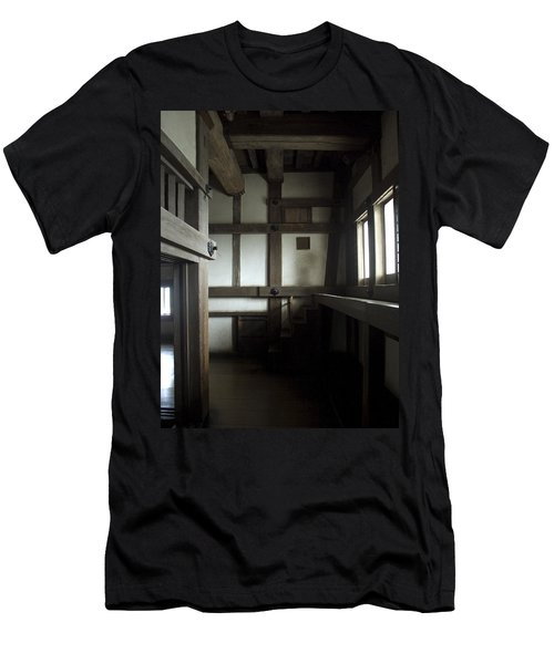 Himeji Medieval Castle Interior - Japan Men's T-Shirt (Athletic Fit)