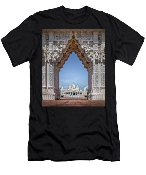 Hindu Architecture Men's T-Shirt (Athletic Fit)