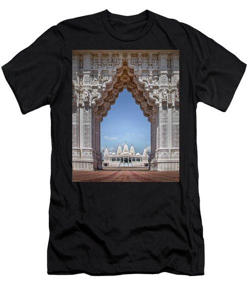 Hindu Architecture Men's T-Shirt (Athletic Fit)