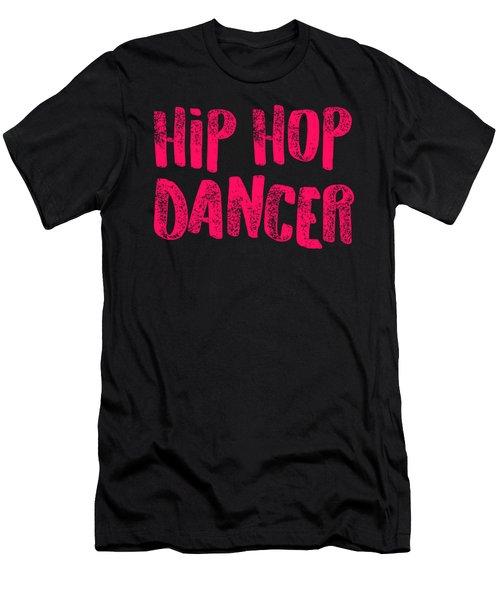 Hip Hop Dancer Pink Dancers Gift Light Men's T-Shirt (Athletic Fit)