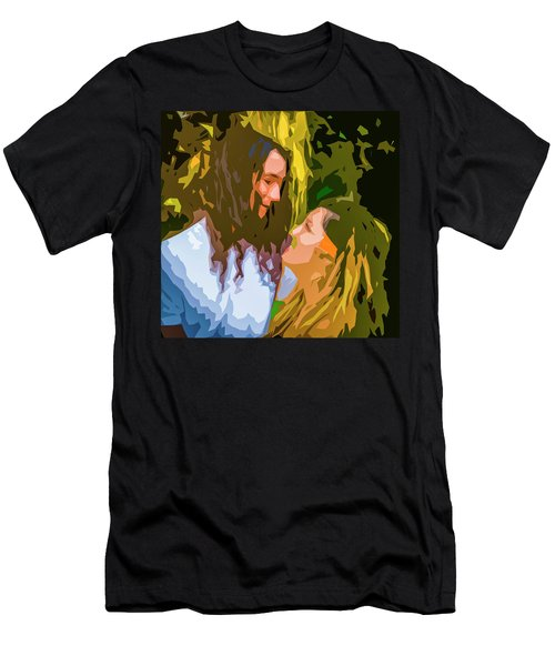 Hip Lovers Men's T-Shirt (Slim Fit) by Josy Cue