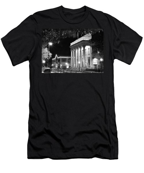 Hippodrome At Night  Men's T-Shirt (Athletic Fit)