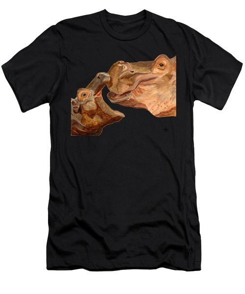 Hippos Men's T-Shirt (Athletic Fit)