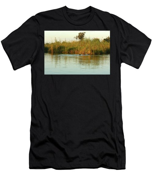 Hippos, South Africa Men's T-Shirt (Athletic Fit)