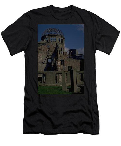 Hiroshima Peace Memorial Men's T-Shirt (Athletic Fit)