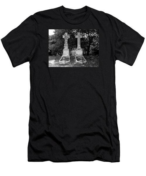 Men's T-Shirt (Athletic Fit) featuring the photograph His And Hers by Michael Colgate