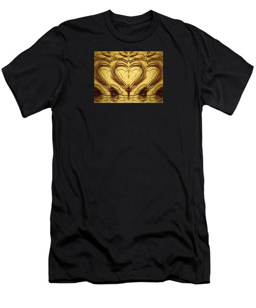 His Healing Heart Men's T-Shirt (Athletic Fit)