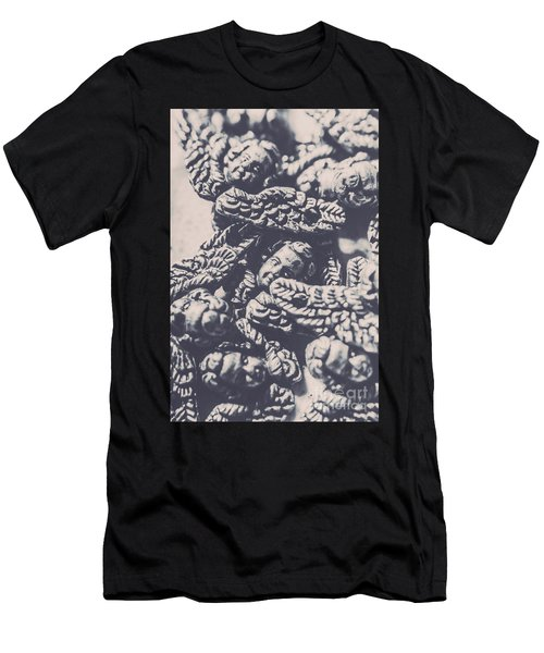 Historic Angel Abstract Men's T-Shirt (Athletic Fit)