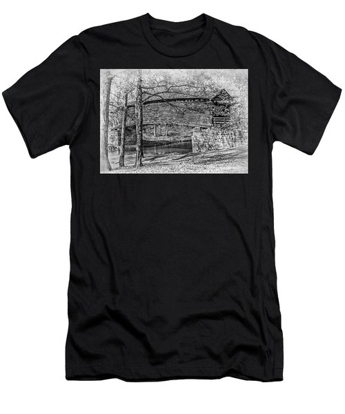 Historic Bridge Men's T-Shirt (Athletic Fit)