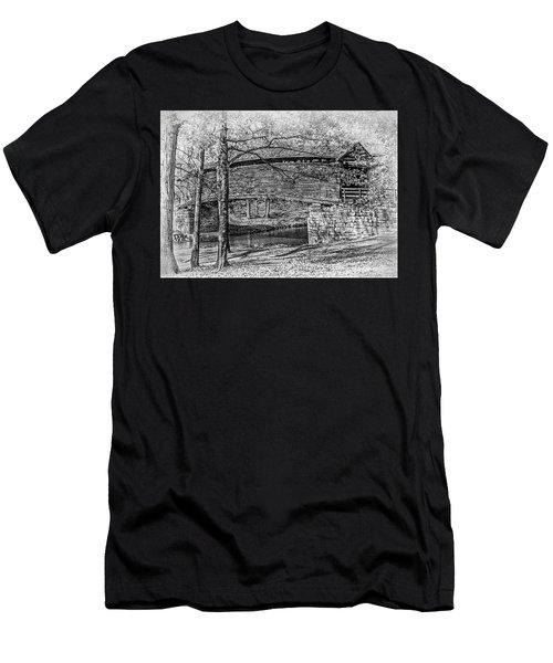 Historic Bridge Men's T-Shirt (Athletic Fit)