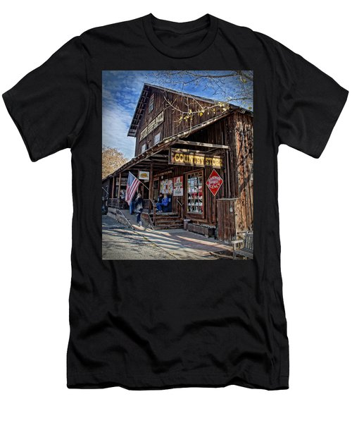 Historic Butte Creek Mill Men's T-Shirt (Slim Fit) by Mick Anderson