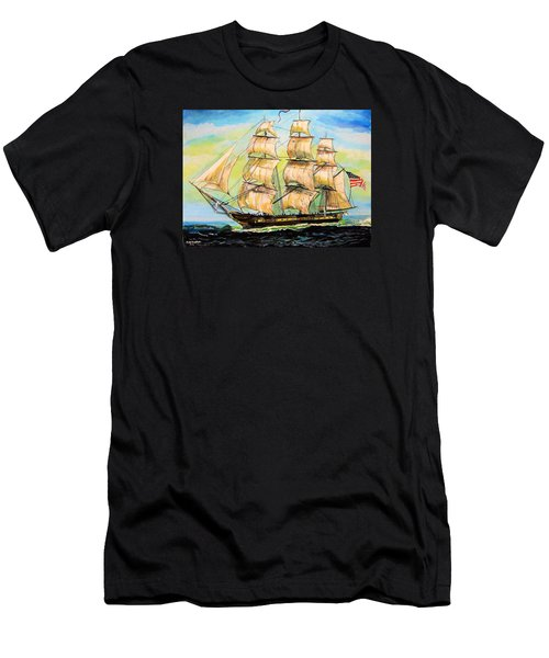 Historic Frigate United States Men's T-Shirt (Athletic Fit)