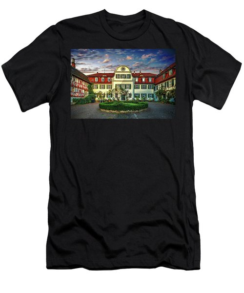 Historic Jestadt Castle Men's T-Shirt (Slim Fit) by Anthony Dezenzio