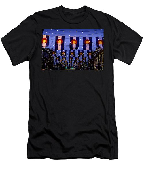 Historic Larimer Square Denver Men's T-Shirt (Athletic Fit)