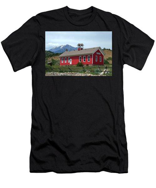 Historic Maysville School In Colorado Men's T-Shirt (Athletic Fit)