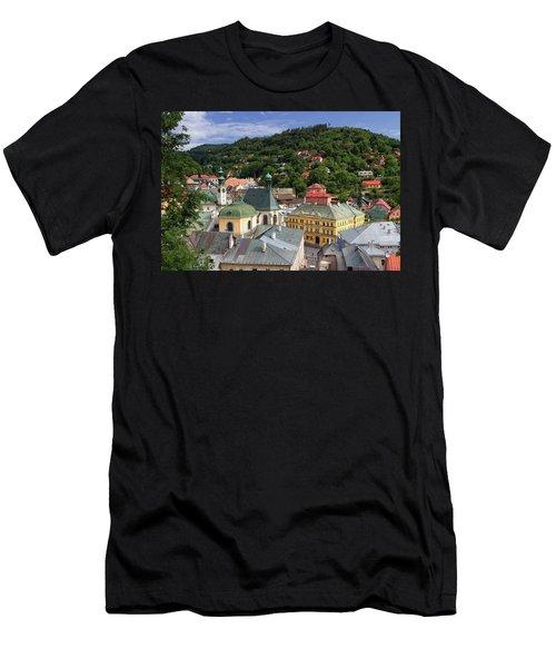 Historic Mining Town Banska Stiavnica, Slovakia Men's T-Shirt (Athletic Fit)