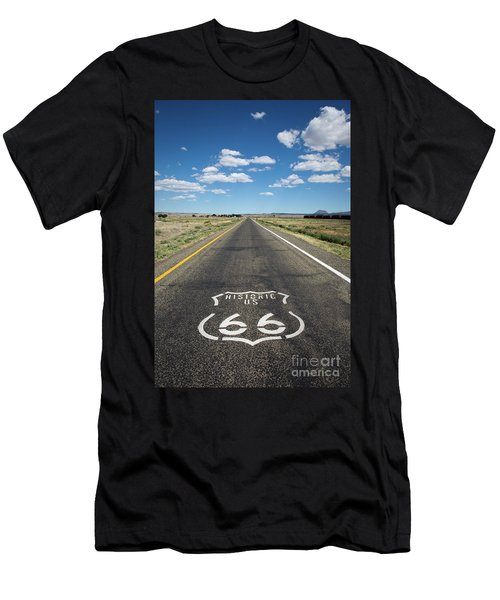 Historica Us Route 66 Arizona Men's T-Shirt (Athletic Fit)