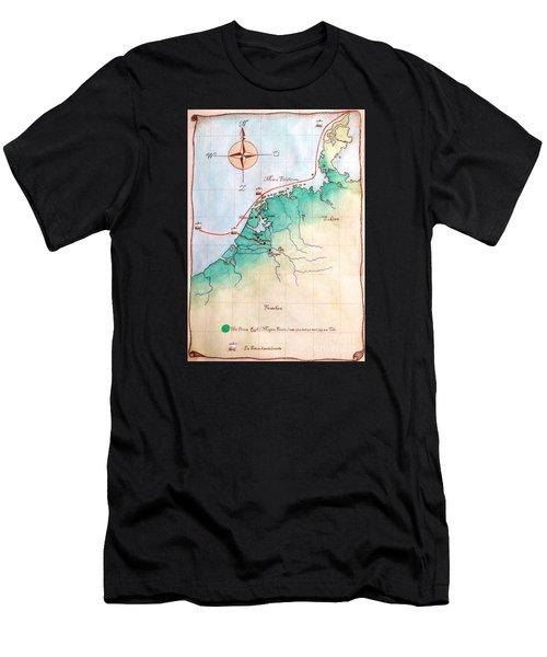 Magna Frisia- Frisian Kingdom Men's T-Shirt (Athletic Fit)