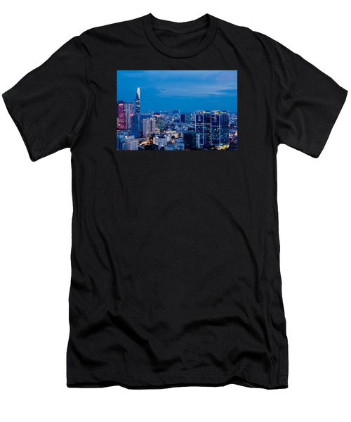 Ho Chi Minh City Night Men's T-Shirt (Athletic Fit)