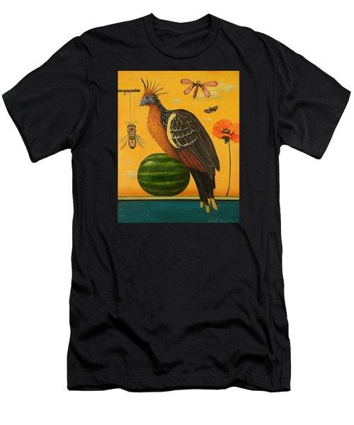 Hoatzin 2 Men's T-Shirt (Athletic Fit)