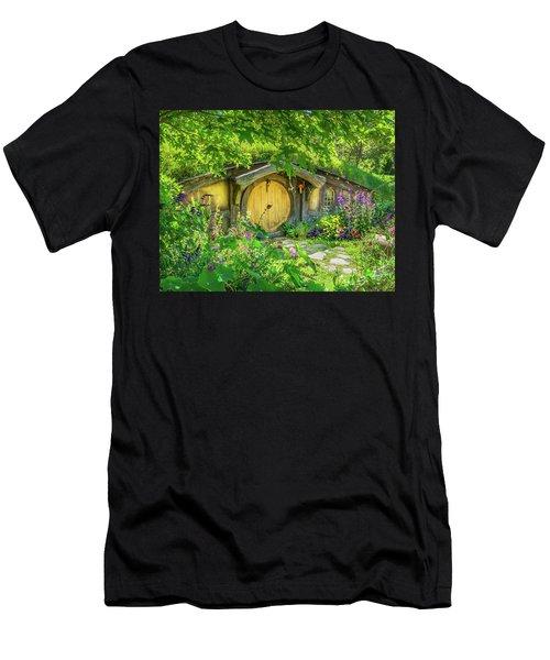 Hobbit Cottage Men's T-Shirt (Athletic Fit)