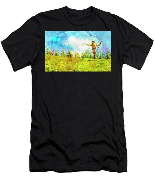 Hobbit Scarecrow Men's T-Shirt (Athletic Fit)