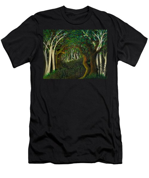 Hobbit Woods Men's T-Shirt (Athletic Fit)