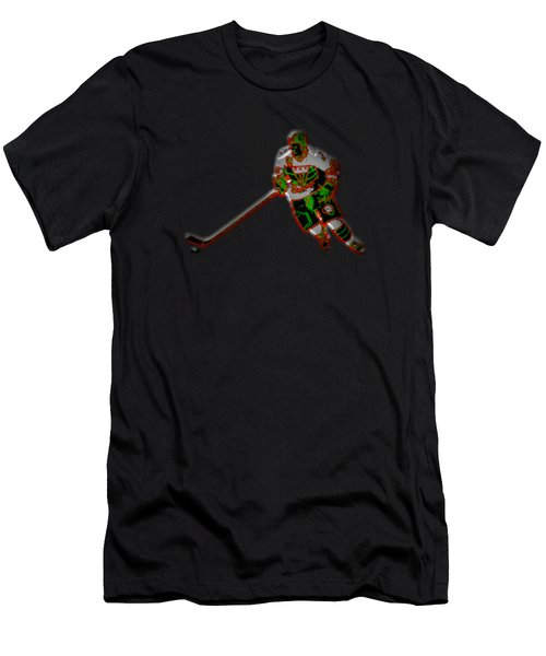 Hockey Player Men's T-Shirt (Athletic Fit)